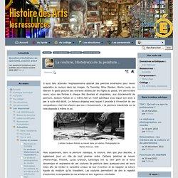 La coulure, Histoire(s) de la peinture... - [Histoire des arts dans l'académie de Lyon]