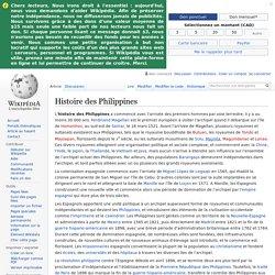 Histoire des Philippines