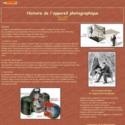 Histoire de l'appareil photographique