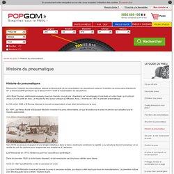 Histoire du pneumatique - POPGOM
