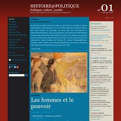 Histoire@Politique n°01
