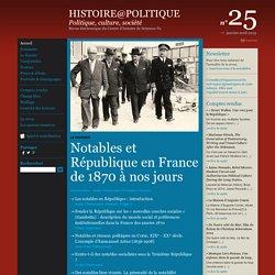 Histoire@Politique n°25