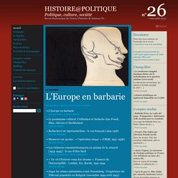 Histoire@Politique n°26