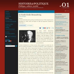 Histoire@Politique n°01 : Sources : Le fonds Cécile Brunschvicg