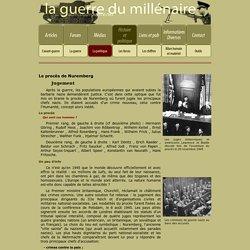 La politique - Le procès de Nuremberg