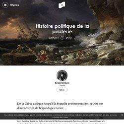 Histoire politique de la piraterie