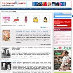 Danone histoire de la marque préférée des Français