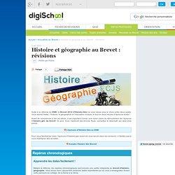 Programme Histoire Géo Brevet 2013
