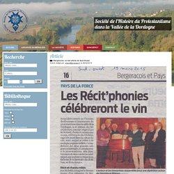Société de l'histoire du Protestantisme dans la Vallée de la Dordogne