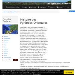 Histoire des Pyrénées-Orientales