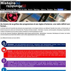 Histoire(s) radiophonique(s) > Formats radio