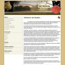 Histoire de Redon - GUIDE DE REDON