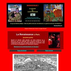 Histoire de Paris, la Renaissance, le XVIe siècle