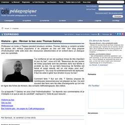 Histoire - géo : Réviser le bac avec Thomas Galoisy