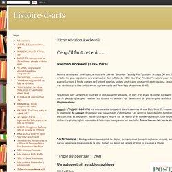 histoire-d-arts: Fiche révision Rockwell