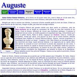 Histoire romaine : Auguste