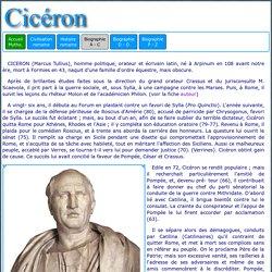 Histoire romaine : Cicéron