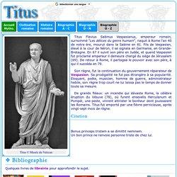 Histoire romaine : Titus