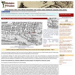 1562 (c) - Où était l'atelier de Bernard Palissy à Saintes (17) ?