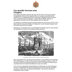 Histoire du Second Empire (1852-1870)