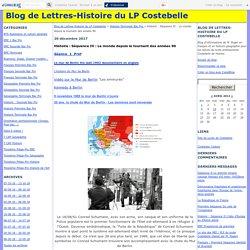 Histoire : Séquence IV : Le monde depuis le tournant des années 90 - Blog de Lettres-Histoire du LP Costebelle