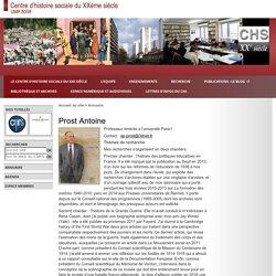 Centre d'histoire sociale du XXème siècle - Prost Antoine