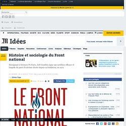 Histoire et sociologie du Front national