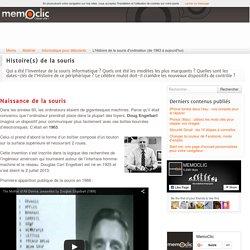 L'Histoire de la souris d'ordinateur (de 1963 à aujourd'hui)