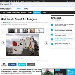 Histoire du Street Art français.