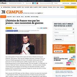 L'histoire de France vue par les jeunes : une succession de guerres
