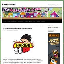 Bonbons Haribo - histoire, bonbons, ours d'or, Hans Riegel