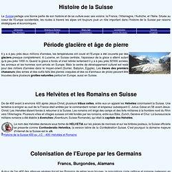Histoire de confédérations