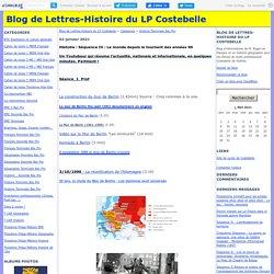 Histoire Terminale Bac Pro - Blog de Lettres-Histoire du LP Costebelle