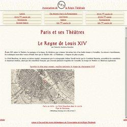 Les théâtres parisiens au XVIIème