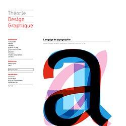 Langage et typographie