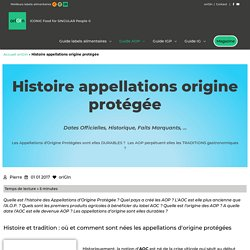 A.O.P : une Histoire et des Traditions Hors Norme