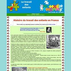 Histoire du travail des enfants en France
