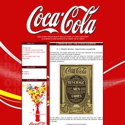 L' Histoire de Coca - Cola à travers sa publicité.