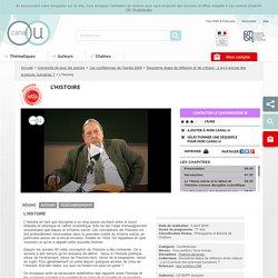 [vidéo] La science historique -J. Le Goff-2000-Dernière partie à actualiser