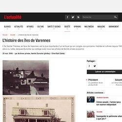 L'histoire des îles de Varennes