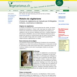 Histoire du végétarisme: Végi-Info 2010/3