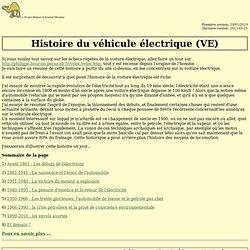 Le projet méhari - Histoire - Véhicule électrique