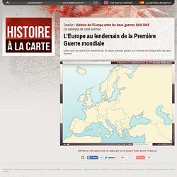 Cartes et Histoire de l'Europe: Traité de Versailles, Saint Germain et Trianon, Accords de Munich