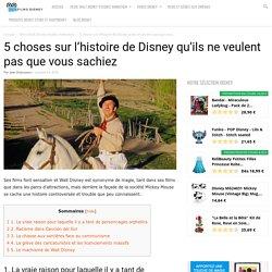 5 choses sur l'histoire de Disney qu'ils ne veulent pas que vous sachiez - Films DIsney