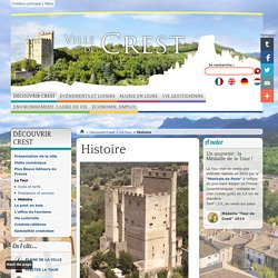 Histoire - Ville de Crest