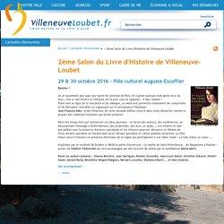 2ème Salon du Livre d'Histoire de Villeneuve-Loubet