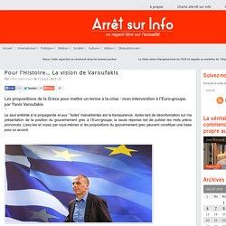 Pour l'Histoire… La vision de Varoufakis