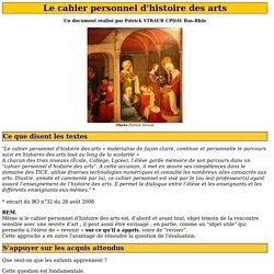 Histoires des arts