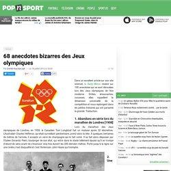 68 histoires bizarres des Jeux olympiques