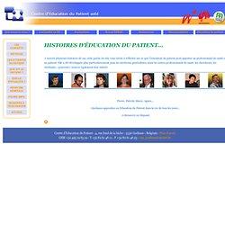 Histoires d'Education du Patient
